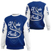 Africa Zone Sweatshirt - Zeta Phi Beta Chucks And Pearls Sweatshirt K.H Pearls J09
