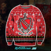 TAU KAPPA EPSILON 3D ALL OVER PRINT UGLY CHRISTMAS SWEATER