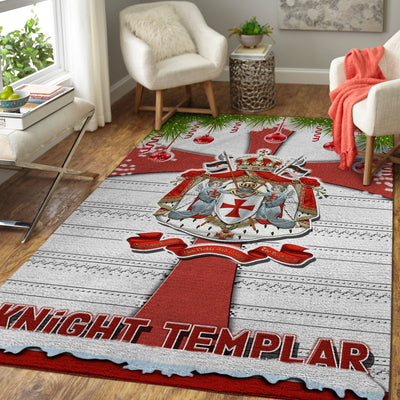 Knight Templar Christmas Area Rug 29102019
