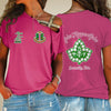 Alpha Kappa Alpha One Shoulder Shirt 24320203