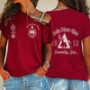 Delta Sigma Theta One Shoulder Shirt 24320203