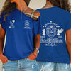 Zeta Phi Beta One Shoulder Shirt 24320203