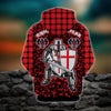 3D ALL OVER PRINTED KNIGHTS TEMPLAR CLOTHES