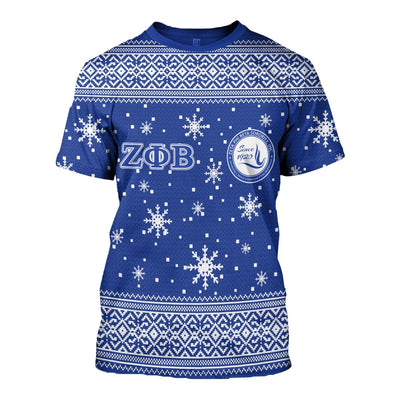 3D ALL OVER ZETA PHI BETA UGLY SWEATER 17920191