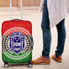 Africa Zone Luggage Cover - Pan Africa \bZeta Phi Beta Sorority Suitcase J5