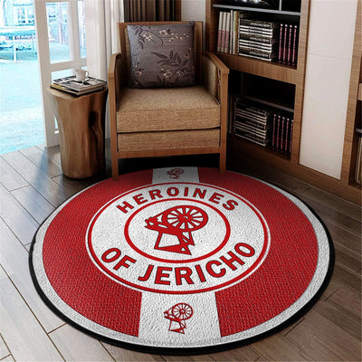 Africa Zone Carpet - Heroines Of Jericho Round Carpet J0