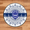Africa Zone Carpet - Zeta Phi Beta Home Round Carpet J0