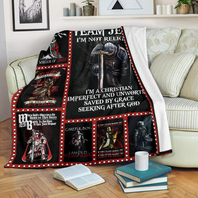 Knight Templar Blanket Fleece