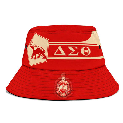 Africa Zone \bBucket Hat - Personalised Delta Sigma Theta - Simple Style J8