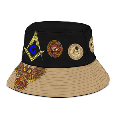 Freemason Bucket Hat