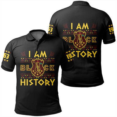 Africa Zone Polo - I Am Black History Iota Phi Theta Polo Shirt J0