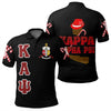 Africa Zone Polo - Kappa Alpha Psi Letters Polo Shirt J0
