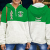 Alpha Kappa Alpha Fleece Half Zipper Hoodie