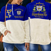 Sigma Gamma Rho fleece stand collar sweatshirt 1
