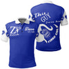 (Custom) Africa Zone Shirt - Zeta Phi Beta Valentine Crush Polo Shirt J0