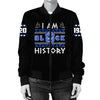 Africa Zone Jacket - I Am Black History Zeta Phi Beta Bomber Jacket J0
