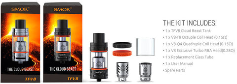 Smok Cloud Beast TFV8