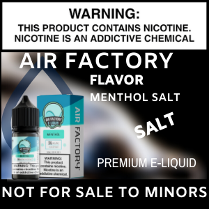 Air Factory Menthol Salt