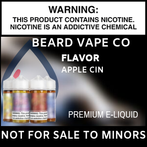 Beard Vape Co The ONE Apple Cinnamon