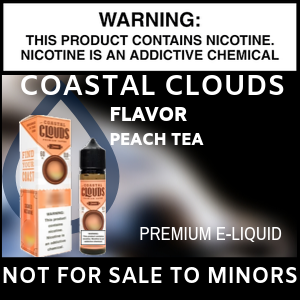 Coastal Clouds Peach Tea