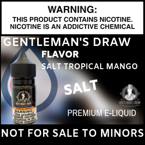 Gentlemans Draw Salt Tropical Mango
