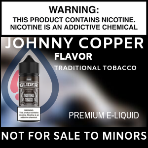 Johnny Copper Glider, Traditional Tobacco