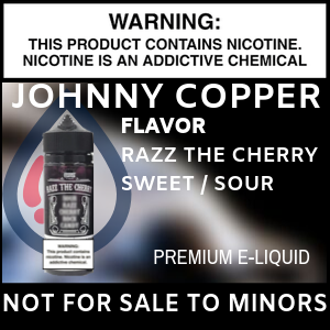 Johnny Copper Razz The Cherry