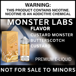Monster Labs Custard Monster Butterscotch Custard
