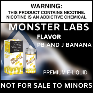 Monster Labs  PB and J Banana