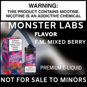 Monster Labs F.M. Mixed Berry