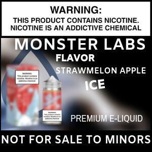 Monster Labs Strawmelon Apple Ice