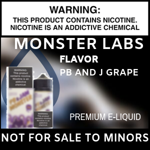 Monster Labs  PB and J Grape