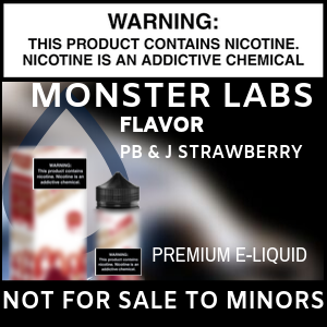 Monster Labs PB and J Strawberry