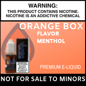 Orange Box Menthol