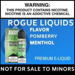 Rogue Pomberry Menthol
