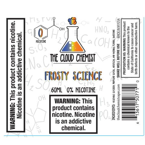 The Cloud Chemist Frosty Science