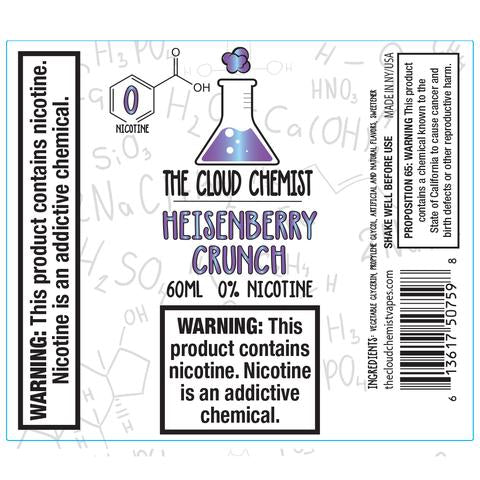 The Cloud Chemist Heisenberry Crunch
