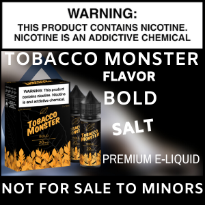 Tobacco Monster Salt (Bold)