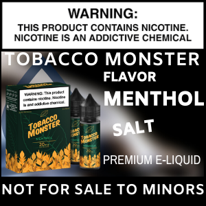 Tobacco Monster Salt (Menthol)