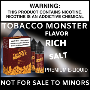 Tobacco Monster Salt (Rich)