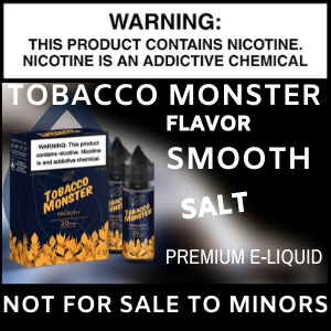 Tobacco Monster Salt (Smooth)