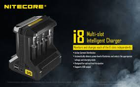 Nitecore i8 Intelligent Battery Charger (8 bay)