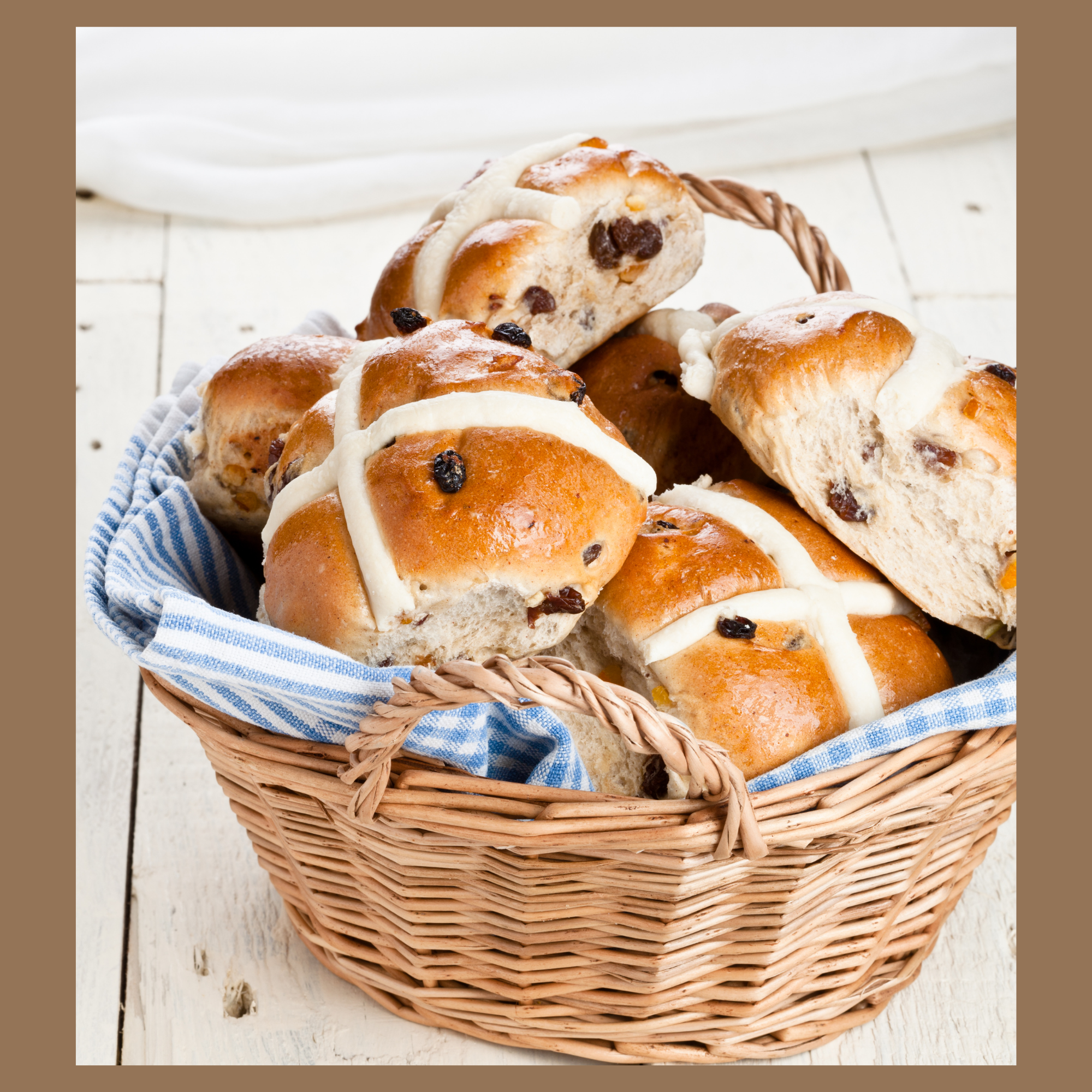 Hot Cross Bun Baking Kit