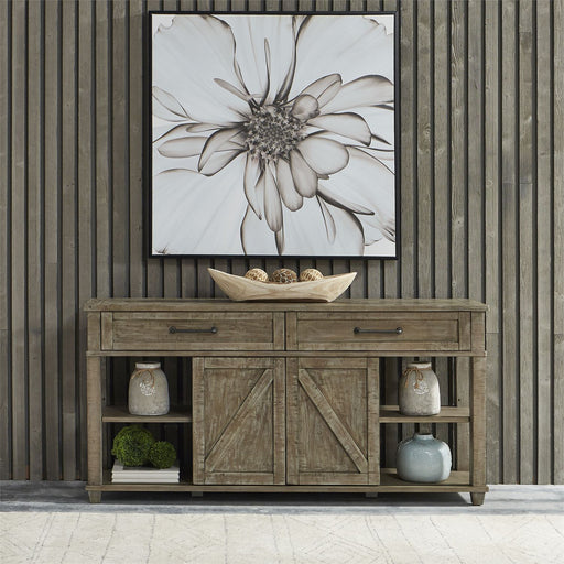 Liberty Parkland Falls Sofa Table in Weathered Taupe 172-OT1030 image
