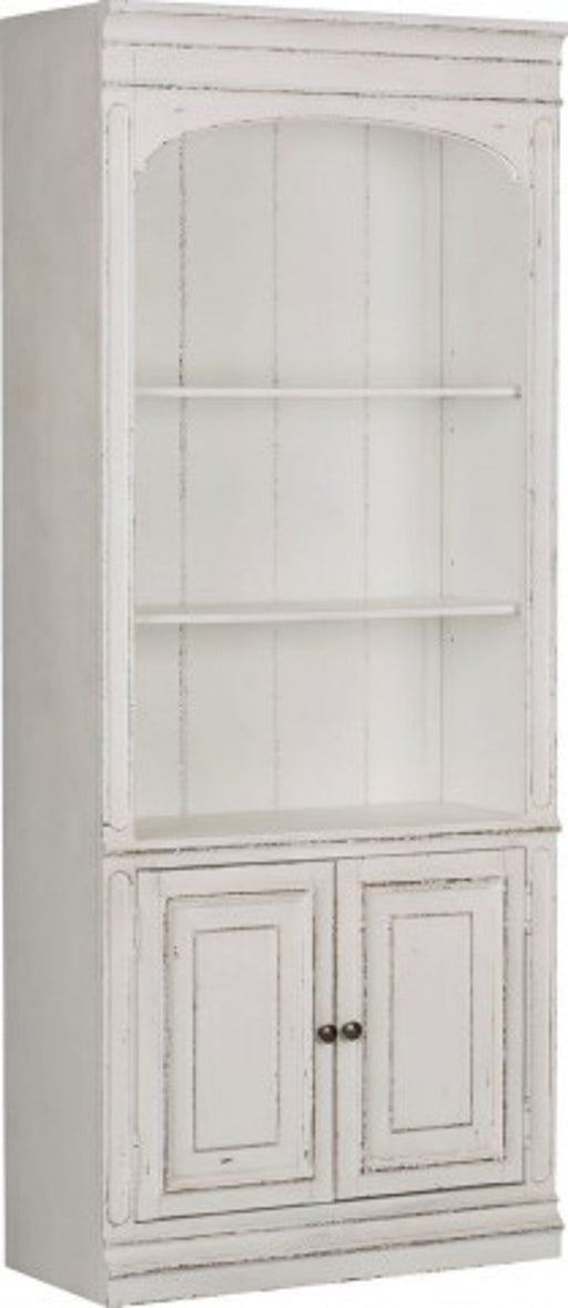 Liberty Magnolia Manor Bunching Bookcase in Antique White 244-HO201 image