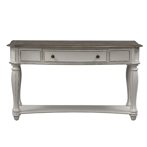 Liberty Magnolia Manor Sofa Table in Antique White 244-OT1030 image