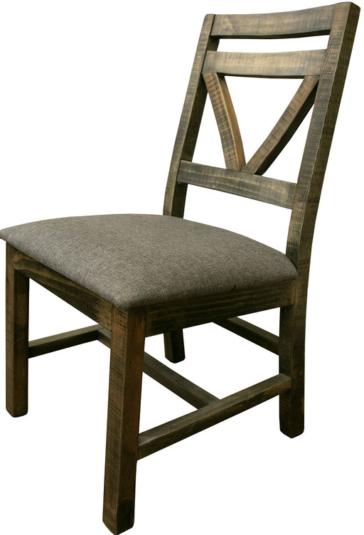 IFD Loft Dining Chair in Brown IFD6552CHR image