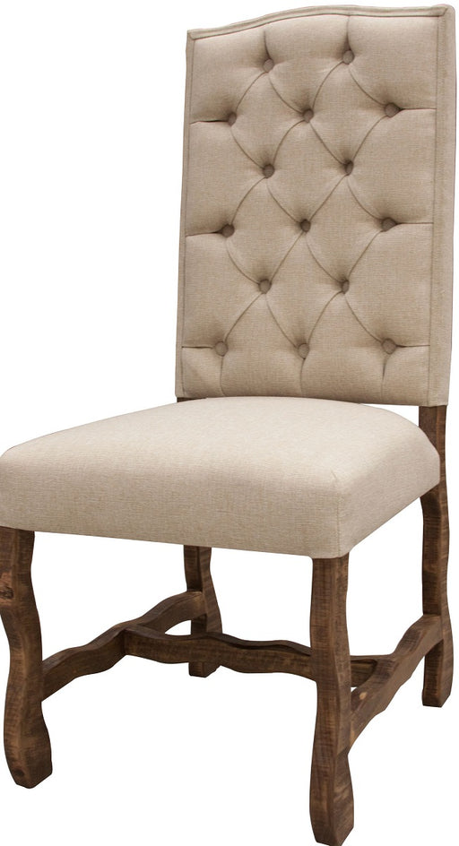 IFD Marquez Upholstered Dining Chair in White (Set of 2) IFD435CHAIR image