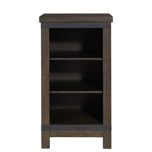 Liberty Furniture Thornwood Hills Low Loft Bookcase in Rock Beaten Gray 759-BR200 image