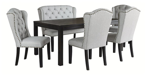 Jeanette Ashley 6-Piece Dining Room Package image